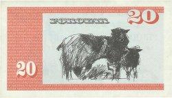 20 Kronur ÎLES FEROE  1986 P.19a SUP+