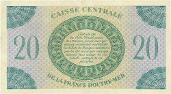 20 Francs GUADELOUPE  1944 P.28a SUP+