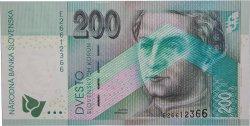200 Korun SLOVAQUIE  1999 P.30 NEUF