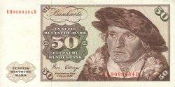 50 Deutsche Mark ALLEMAGNE FÉDÉRALE  1980 P.33d TTB