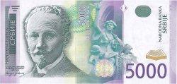 5000 Dinara SERBIE  2003 P.45a NEUF