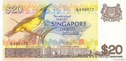 20 Dollars SINGAPOUR  1979 P.12 SUP