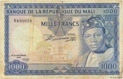 1000 Francs MALI  1960 P.09 pr.TB