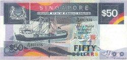 50 Dollars SINGAPOUR  1997 P.36 TTB+