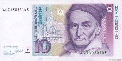 10 Deutsche Mark ALLEMAGNE FÉDÉRALE  1993 P.38c SPL+