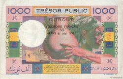 1000 Francs AFARS ET ISSAS  1974 P.32 TTB