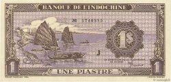 1 Piastre INDOCHINE FRANÇAISE  1942 P.060 NEUF