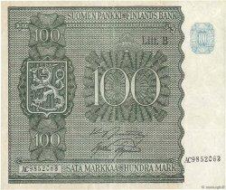 100 Markkaa FINLANDE  1945 P.088 TTB