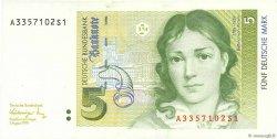 5 Deutsche Mark ALLEMAGNE  1991 P.037 pr.NEUF