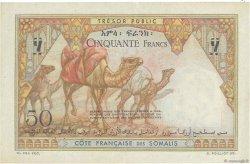 50 Francs DJIBOUTI  1952 P.25 SUP