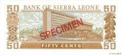 50 Cents SIERRA LEONE  1979 P.04s NEUF