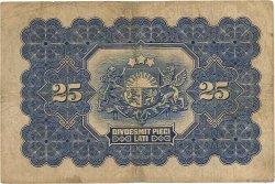 25 Latu LETTONIE  1928 P.18a TB