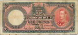 1 Pound FIDJI  1938 P.039b TB