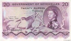 20 Rupees SEYCHELLES  1968 P.16a TTB+