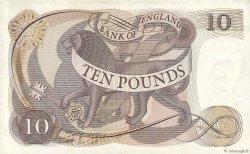 10 Pounds ANGLETERRE  1970 P.376r TTB