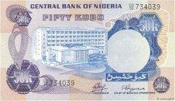 50 Kobo NIGERIA  1973 P.14a NEUF