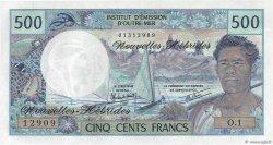 500 Francs type 1969 NOUVELLES HÉBRIDES  1979 P.19c SPL