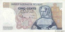 500 Francs BELGIQUE  1971 P.135b SUP