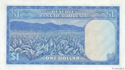 1 Dollar RHODÉSIE  1973 P.30h SUP