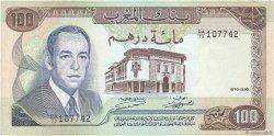 100 Dirhams MAROC  1970 P.59a SUP+