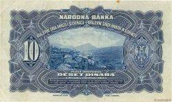 10 Dinara YOUGOSLAVIE  1920 P.021a TTB