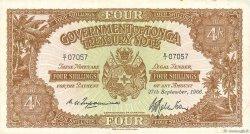 4 Shillings TONGA  1966 P.09d TTB
