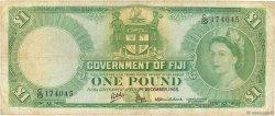 1 Pound FIDJI  1965 P.053h TB