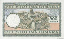 500 Dinara YOUGOSLAVIE  1935 P.032 NEUF