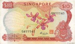 10 Dollars SINGAPOUR  1973 P.03d TTB