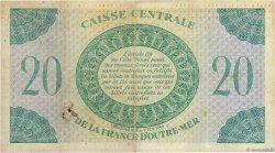20 Francs GUADELOUPE  1944 P.28a TB