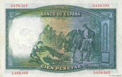 100 Pesetas ESPAGNE  1931 P.083 SUP