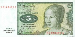 5 Deutsche Mark ALLEMAGNE FÉDÉRALE  1980 P.30b NEUF
