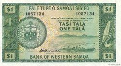 1 Tala SAMOA  1967 P.16c NEUF