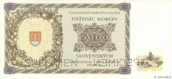 5000 Korun SLOVAQUIE  1944 P.14s NEUF