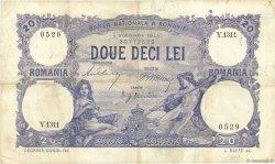 20 Lei ROUMANIE  1913 P.020a TTB