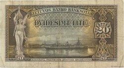 20 Litu LITUANIE  1930 P.27a TB+