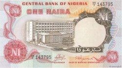 1 Naira NIGERIA  1973 P.15a NEUF