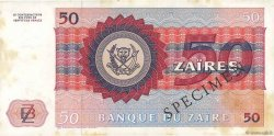 50 Zaïres ZAÏRE  1980 P.25s TTB+
