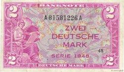 2 Deutsche Mark ALLEMAGNE FÉDÉRALE  1948 P.03a TTB