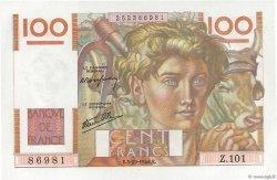 100 Francs JEUNE PAYSAN FRANCE  1946 F.28.09 pr.NEUF