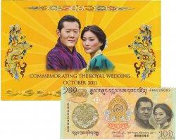 100 Ngultrum BHOUTAN  2011 P.35 NEUF