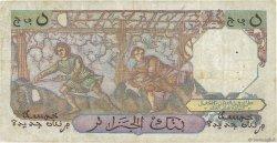5 Nouveaux Francs type 1950 modifié 1959 ALGÉRIE  1959 P.118a TB