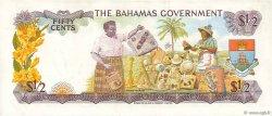 50 Cents BAHAMAS  1965 P.17a TTB
