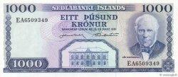 1000 Kronur ISLANDE  1961 P.46a NEUF