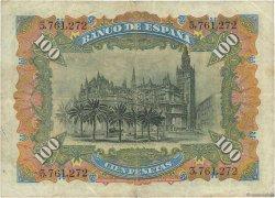 100 Pesetas ESPAGNE  1907 P.064a TTB