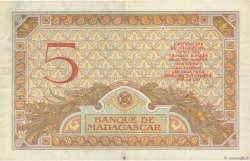 5 Francs MADAGASCAR  1937 P.35 SUP
