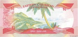 1 Dollar CARAÏBES  1988 P.17u pr.NEUF