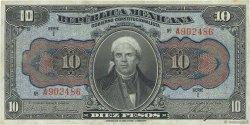 10 Pesos MEXIQUE  1915 PS.0686a TTB