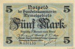5 Mark MEMEL  1922 P.04b SPL
