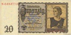 20 Reichsmark ALLEMAGNE  1939 P.185 TTB+